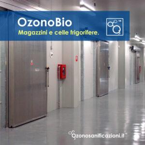 Sanificazione e sterilizzazione celle frigorifere e magazzini