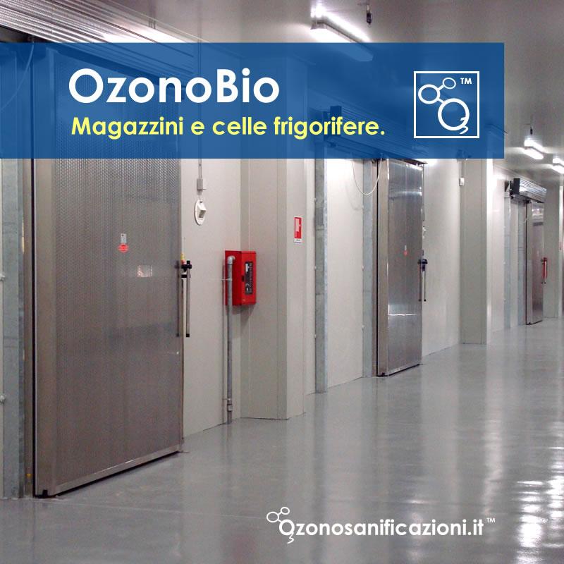 Disinfezione celle frigorifere e magazzini