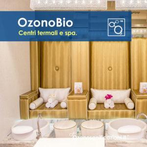 Disinfezione igienizzazione locali di centri termali spa e centri benessere