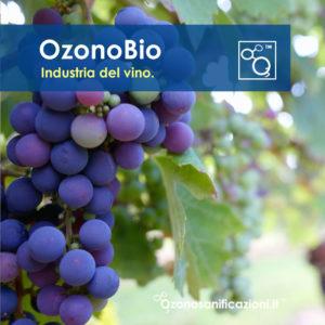 Sanificazioni botti tappi sughero industria del vino