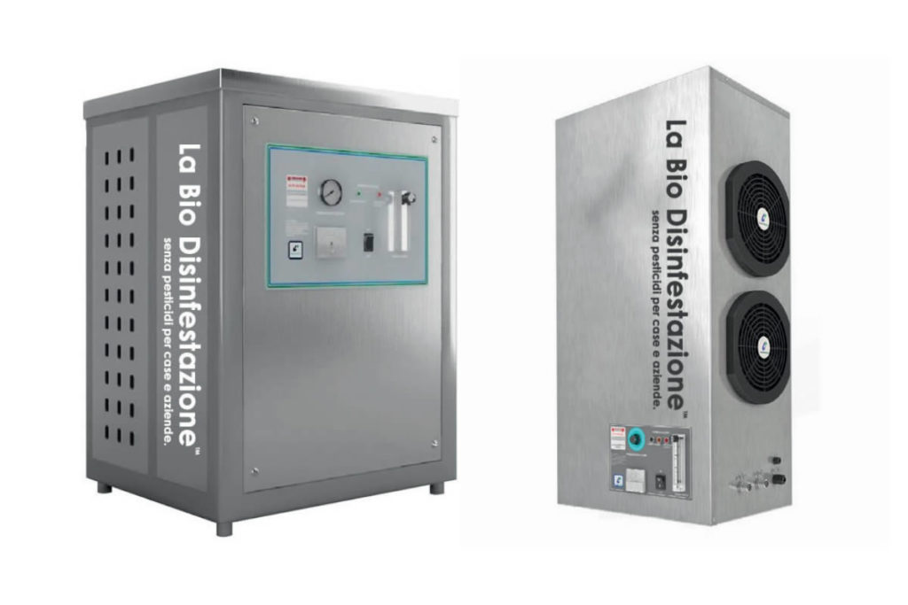 Generatori macchinari ozono professionali industriali