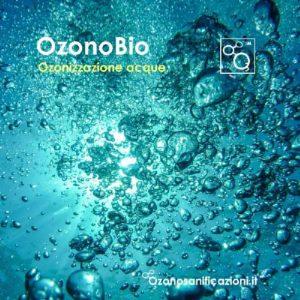 Ozonizzazione acqua trattamento disinfettante ad ozono