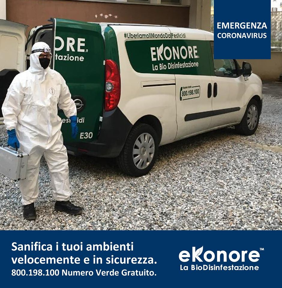 sanificazione disinfezione strade coronavirus