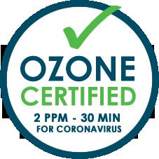 Ozono certificato di qualità