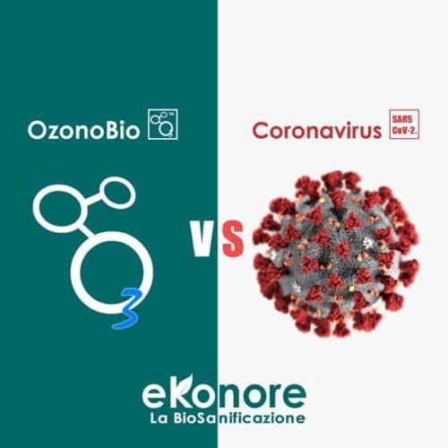 Ozono disinfettante contro coronavirus