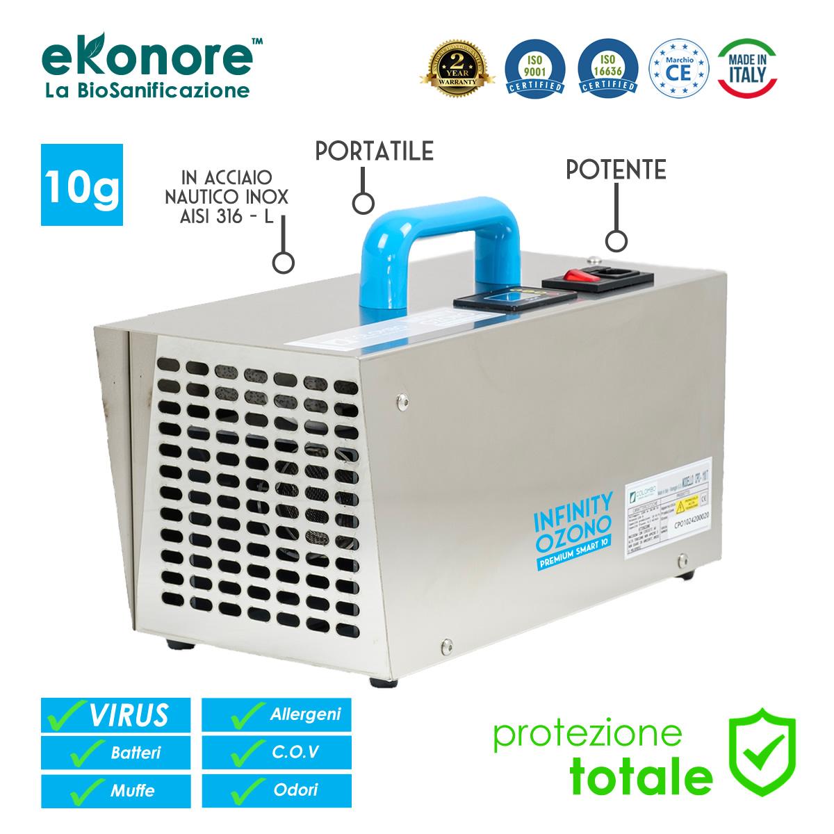 Generatore di Ozono | Infinity Smart 10
