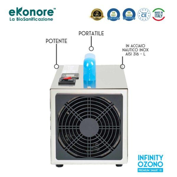 Generatore ozono professionale made in italy certificato
