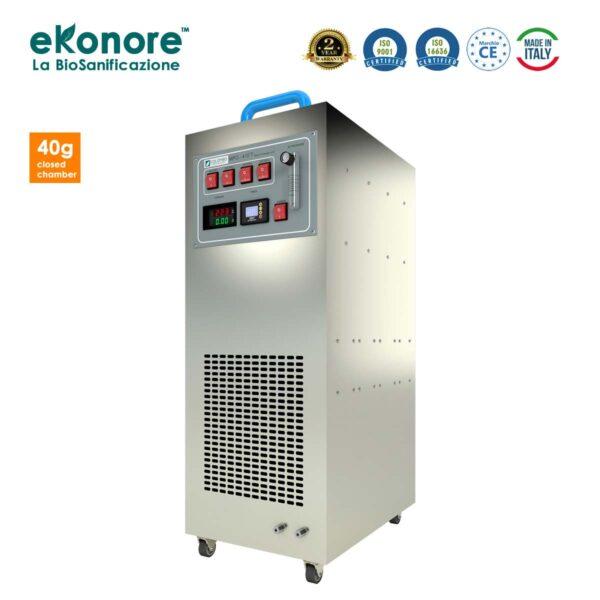 Generatore Ozono Camera Chiusa 40 grammi Uso professionale